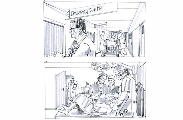 Sample storyboard